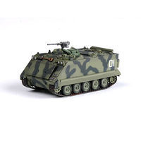 Easy-Models M113A1/ACAV Tank South Vietnamese Army Pre-Built Plastic Model Tank 1/72 Scale #35004