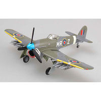 Easy-Models HAWKER TYPHOON Mk.Ib Sqd24 Pre-Built Plastic Model Airplane 1/72 Scale #36314