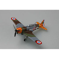 Easy-Models MS.406 VICHY AF Pre-Built Plastic Model Airplane 1/72 Scale #36329