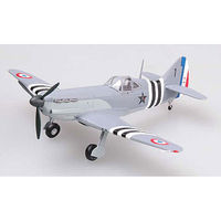 Easy-Models D.520 of CFP CORPS FRANC POMMI Pre-Built Plastic Model Airplane 1/72 Scale #36337