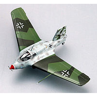 Easy-Models ME-163B-1a KOMET White 54 Pre-Built Plastic Model Airplane 1/72 Scale #36340