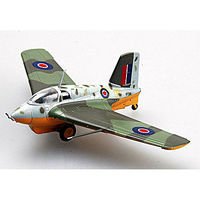 Easy-Models Me-163B-1a KOMET RAF Pre-Built Plastic Model Airplane 1/72 Scale #36343