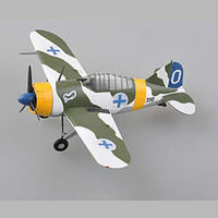 Easy-Models F2A-3 VF-2 USS CV-2 1942 Plastic Model Airplane Kit 1/72 Scale #36382