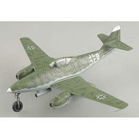 Easy-Models Me262 A-2a 9K+BH of 1./KG51 Base at Rheine Pre-Built Plastic Model Airplane 1/72 #36405