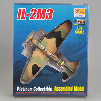 Easy-Models II-2M3 Yellow 25 Plastic Model Airplane Kit 1/72 Scale #36413
