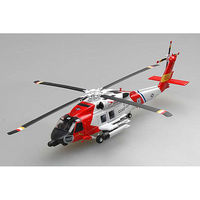 Easy-Models HH-60J Jayhawk Heli USCG Pre-Built Plastic Model Helicopter 1/72 Scale #36925