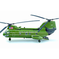 Easy-Models CH-46F SEA KNIGHT Exp Sqd Pre-Built Plastic Model Helicopter 1/72 Scale #37004