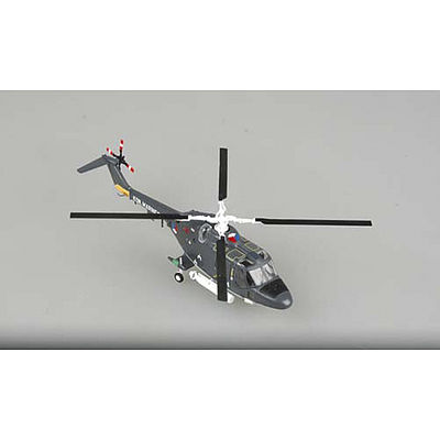 Easy Models WESTLAND LYNX ROYAL NAVY -- Pre-Built Plastic Model Helicopter -- 1/72 Scale -- #37095