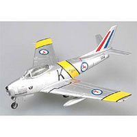 Easy-Models F-86F-30 SOUTH AFRICAN AF Pre-Built Plastic Model Airplane 1/72 Scale #37100
