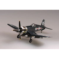 Easy-Models F-4U4 CORSAIR VMF-323 USMC Pre-Built Plastic Model Airplane 1/72 Scale #37237