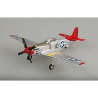 Easy-Models P-51D Mustang Red Tail Pre-Built Plastic Model Airplane 1/72 Scale #39201