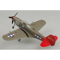 Easy-Models P-39Q Aircobra Red Tails Pre-Built Plastic Model Airplane 1/72 Scale #39203