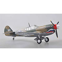 Easy-Models P-40M China 1945 Pre-Built Plastic Model Airplane 1/48 Scale #39313