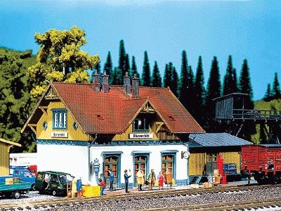 Small Faller 110092 Country Station HO Scale Building Kit