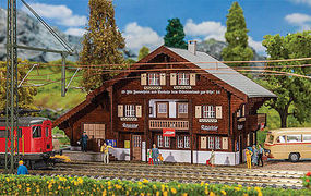 Faller Litziruti Station Kit HO Scale Model Railroad Building #110129