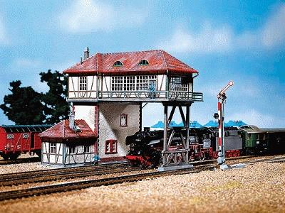 Faller Overhead Signal Tower Kit HO Scale Model Railroad Building #120125
