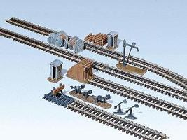 Faller Trackside Accessories Kit HO Scale Model Railroad Accessory #120141