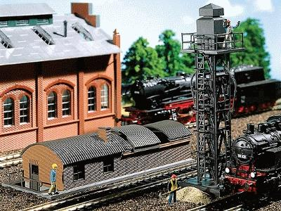 Faller 120136 Inspection Pit 2//HO Scale Building Kit