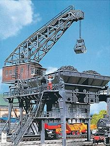 Faller Coaling Station Kit HO Scale Model Railroad Building #120148