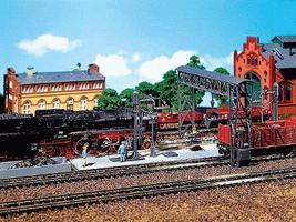 Faller Cinder Removal Facility HO Scale Model Railroad Building #120149