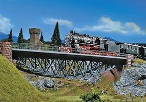Faller Fishbellied Bridge Kit HO Scale Model Railroad Accessory #120496