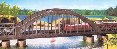 Faller Gmbh Arch Bridge Kit 36 x 6.5 x 11.9cm -- HO Scale Model Railroad Bridge -- #120536