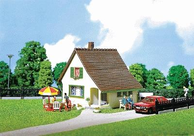 Faller Chalet with Porch HO Scale Model Railroad Building #130204
