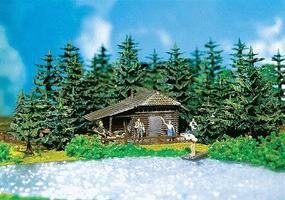 Faller Log Cabin HO Scale Model Railroad Building #130299