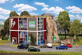 Faller DAV Rock Climbing Center Kit HO Scale Model Railroad Building #130324