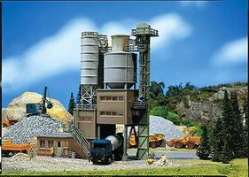 Faller Cement Works Kit HO Scale Model Railroad Building #130474