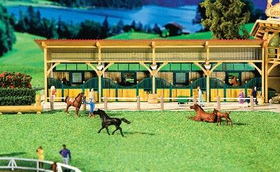 Faller Roofed Stable Kit HO Scale Model Building #130541