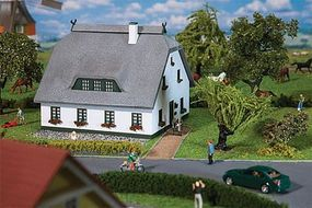 Faller North German Vacation Home HO Scale Model Railroad Building #130550