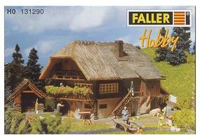Faller Black Forest Farm House HO Scale Model Railroad Building #131290
