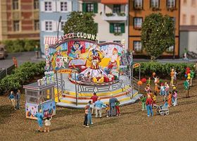 Faller Fahrgeschaft Crazy Clown Carnival Ride (Motorized Kit) HO Scale Model Building #140424