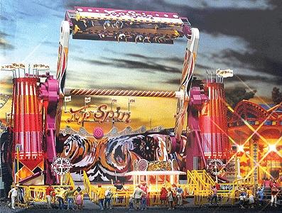 Faller Gmbh Top Spin Midway Ride - HO-Scale