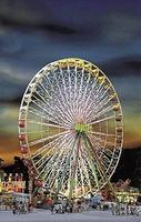 Faller Jupiter Ferris Wheel Kit HO Scale Model Railroad Building #140470