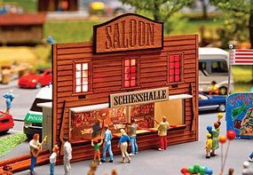 Faller Saloon Shooting Gallery Kit HO Scale Model Railroad Building #140475
