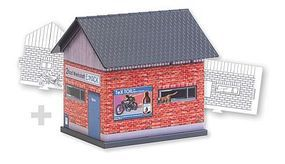 Faller Workshop Paintable Fold & Snap Cardstock Kit HO Scale Model Railroad Building #150130