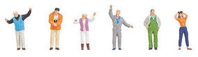 Faller Balloonists & Spectators HO Scale Model Railroad Figure #150915