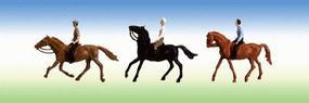 Faller Sports & Recreation Horse Riders (3) HO Scale Model Figure #153027