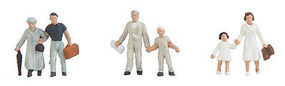 Faller 3 Couples of People N Scale Model Railroad Figure #155348