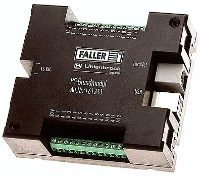 Faller Gmbh Car System PC Computer Interface Module -- HO Scale Model Electrical -- #161351