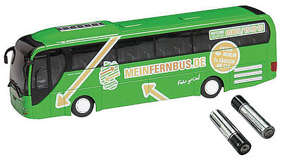 Faller Gmbh CS MAN Lion's Coach Bus -- HO Scale Model Railroad Vehicle -- #161496