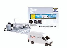 Faller Operating Vehicle Starter Set w/MB Sprinter Van HO Scale Model Vehicle #161504