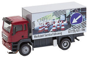 Faller MAN TGS Repair Shop Truck HO Scale Model Railroad Vehicle #161554
