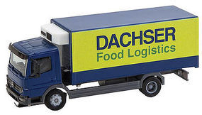 Faller MB Atego Dacher Food Log HO Scale Model Railroad Vehicle #161555