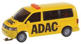 Faller Volkswagen T5 Van ADAC (yellow, black) HO Scale Model Railroad Vehicle #161586