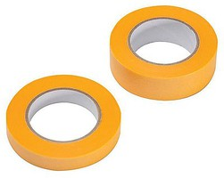 Masking Tape 1 Each- 1/4''  .6cm & 3/8  1cm Widths, 18m Long