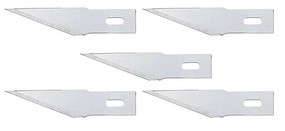 Faller Spare Straight Blades Fits Knife Handle 272-170540 pkg(5)