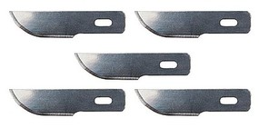 Faller Spare Curved Blades Fits Knife Handle 272-170540 pkg(5)